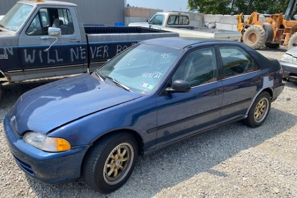 95 Civic Blue